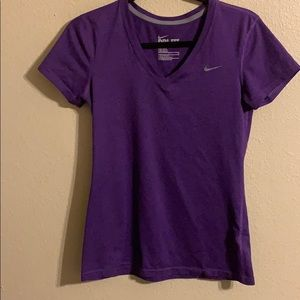 Nike purple tee size small